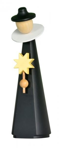 Kurrendefigur von KWO mit Stern, modern, 11 cm