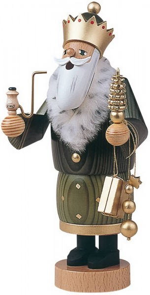 Räuchermännchen Balthasar, 22 cm von KWO Kunstgewerbe-Werkstätten Olbernhau/ Erzgebirge