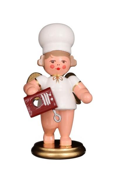 Weihnachtsengel - Bäckerengel von Christian Ulbricht mit Rührgerät aus Holz