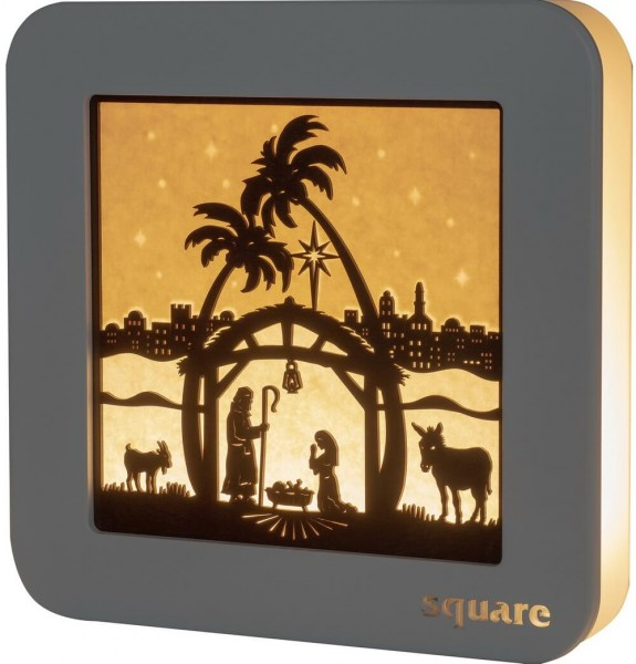 Weigla LED Standbild Square Heilige Familie, 29 cm_Bild1