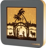 Vorschau: Weigla LED Wandbild Square Heilige Familie, 29 cm_Bild1