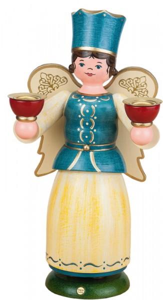 Weihnachtsengel mit Kerzen, 22 cm, Hubrig Volkskunst GmbH Zschorlau/ Erzgebirge