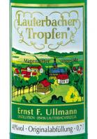 Vorschau: Lauterbacher Tropfen Etikett des Magenbitters aus dem Erzgebirge