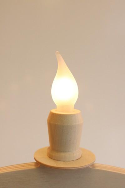 Flammenkerzen, 5 Stück, 34 Volt, 3 Watt