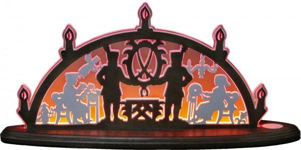 Weigla LED Motivleuchte Erzgebirge, rot
