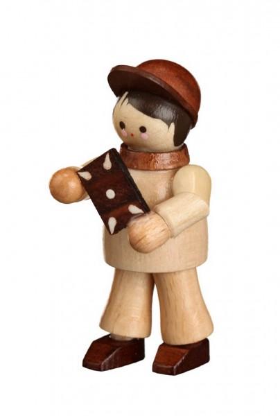 Die Figur Hänsel, mini in natur von Romy Thiel Deutschneudorf/ Erzgebirge, aus dem Märchen Hänsel und Gretel. Knusper, knusper,knäuschen, …