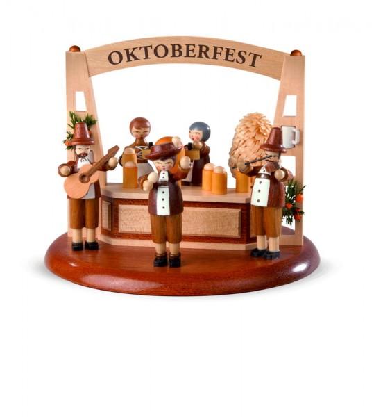 Motivplattform für Spieluhr von Müller GmbH Kleinkunst aus Seiffen/Erzgebirge, Motiv Oktoberfest