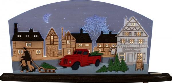 Weigla LED Motivleuchte Christmas Pick-Up