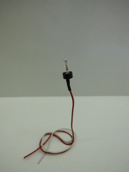 Ersatzlampe für Kirchturmbeleuchtung T1, 12 V mit 15 cm Leitungskabel