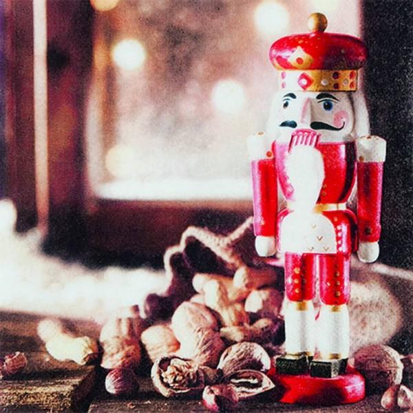 Home Fashion®, Weihnachtsservietten Nutcracker