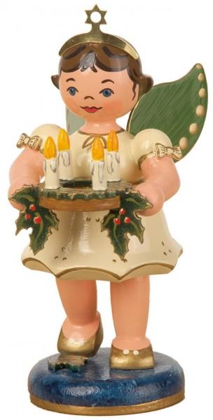 Weihnachtsengel des Lichtes von Hubrig Volkskunst GmbH Zschorlau/ Erzgebirge ist 10 cm groß.