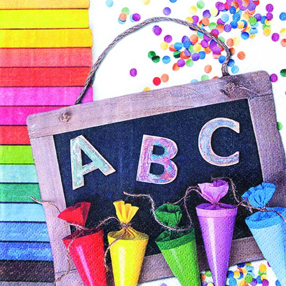 Servietten ABC 123 von Home Fashion®