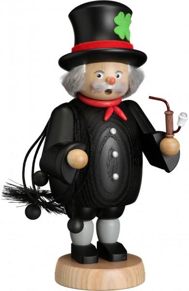 Der Räuchermann Schornsteinfeger, 21 cm von Seiffener Volkskunst eG Seiffen/ Erzgebirge, bringt Glück in Ihr Zuhause. Ein Kuss oder eine Umarmung solle das …