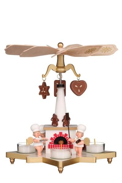 Weihnachtspyramide Bäckerengel, 27 cm von Christian Ulbricht