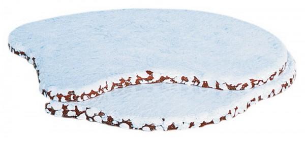 Anbau für Hubrig Winterlandschaft weiß aus Holz