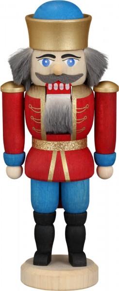 Ihre Majestät der Nussknacker König in rot, 12 cm von Seiffener Volkskunst eG Seiffen/ Erzgebirge, gibt uns die Ehre. Dienten früher die Nussknacker oder auch …