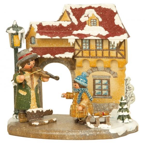 Jahreszeiten - Winter, 13 x 12 cm, Hubrig Volkskunst GmbH Zschorlau/ Erzgebirge