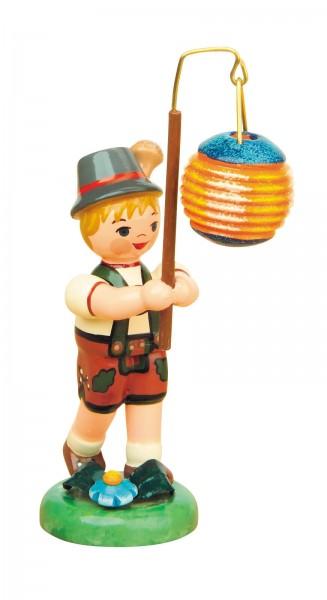 Lampionkind von Hubrig Volkskunst Junge mit Kugellampion