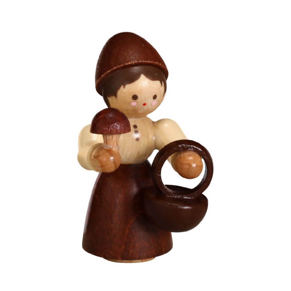 Pilzfrau von Romy Thiel, mini in natur