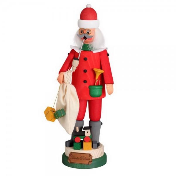 """Räuchermännchen Santa Claus von Karl Werner Sayda / Erzgebirge Dieses Räuchermännchen stammt aus der Herstellungsserie """"Bekannte sächsische Persönlichkeiten"""". …"""