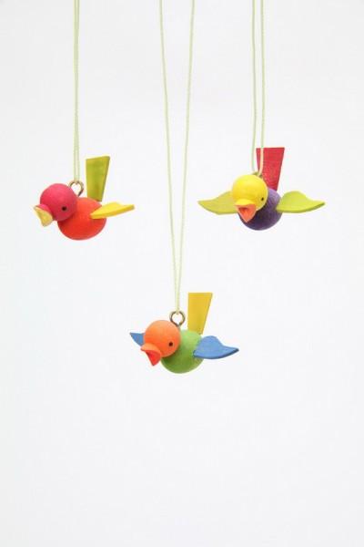 Flugvögel, klein, 12 Stück von Christian Ulbricht