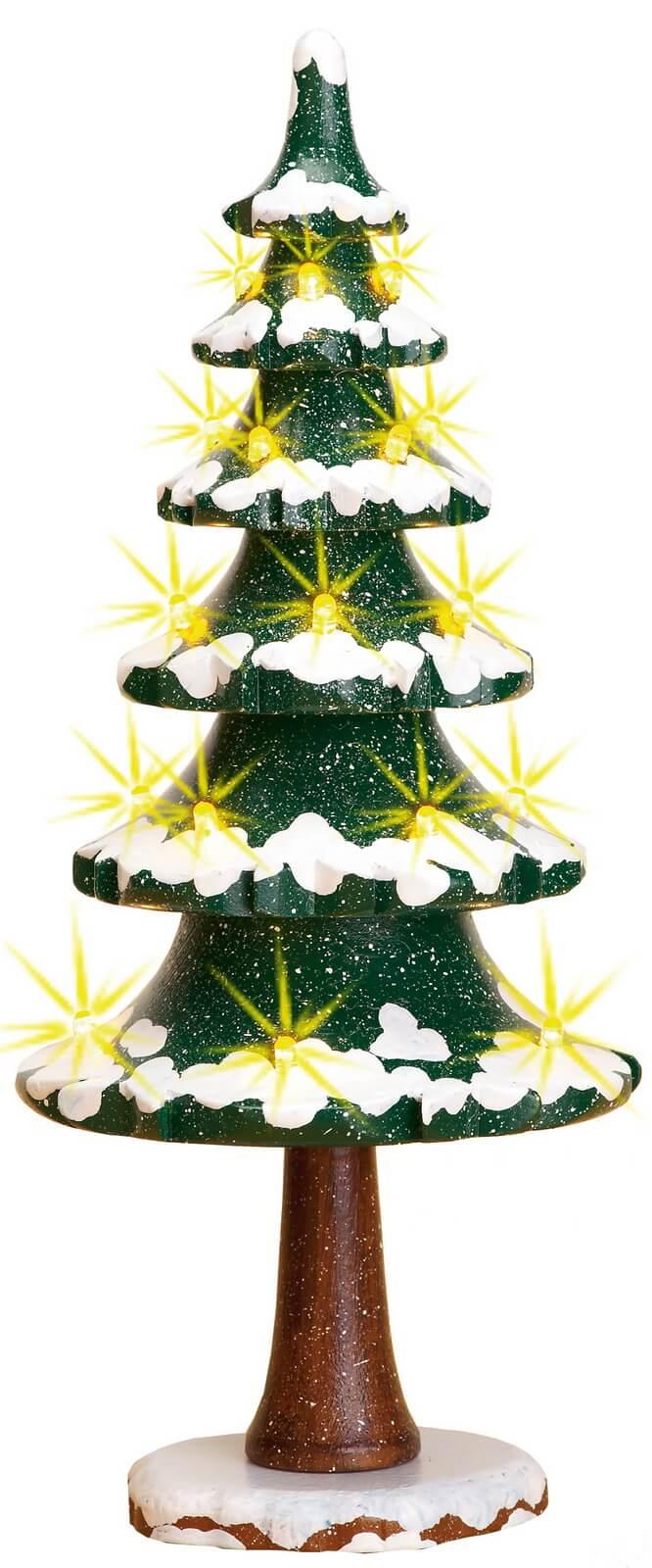 Winterkinder Lichterbaum von Hubrig Volkskunst, elektrisch