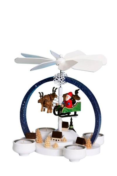 Knuth Neuber, Weihnachtspyramide Weihnachtszauber, farbig