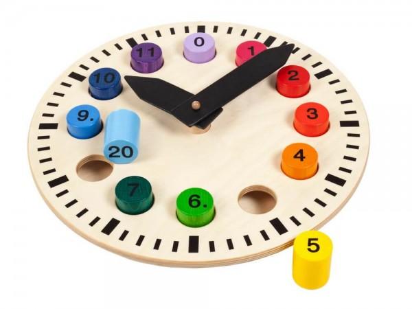 Ich bringe schon die Zahlen!! Um diese optisch einzubinden und umzusetzten eignet sich am Besten das Spiel und der Umgang mit der Uhr. Eine ganz tolle große …