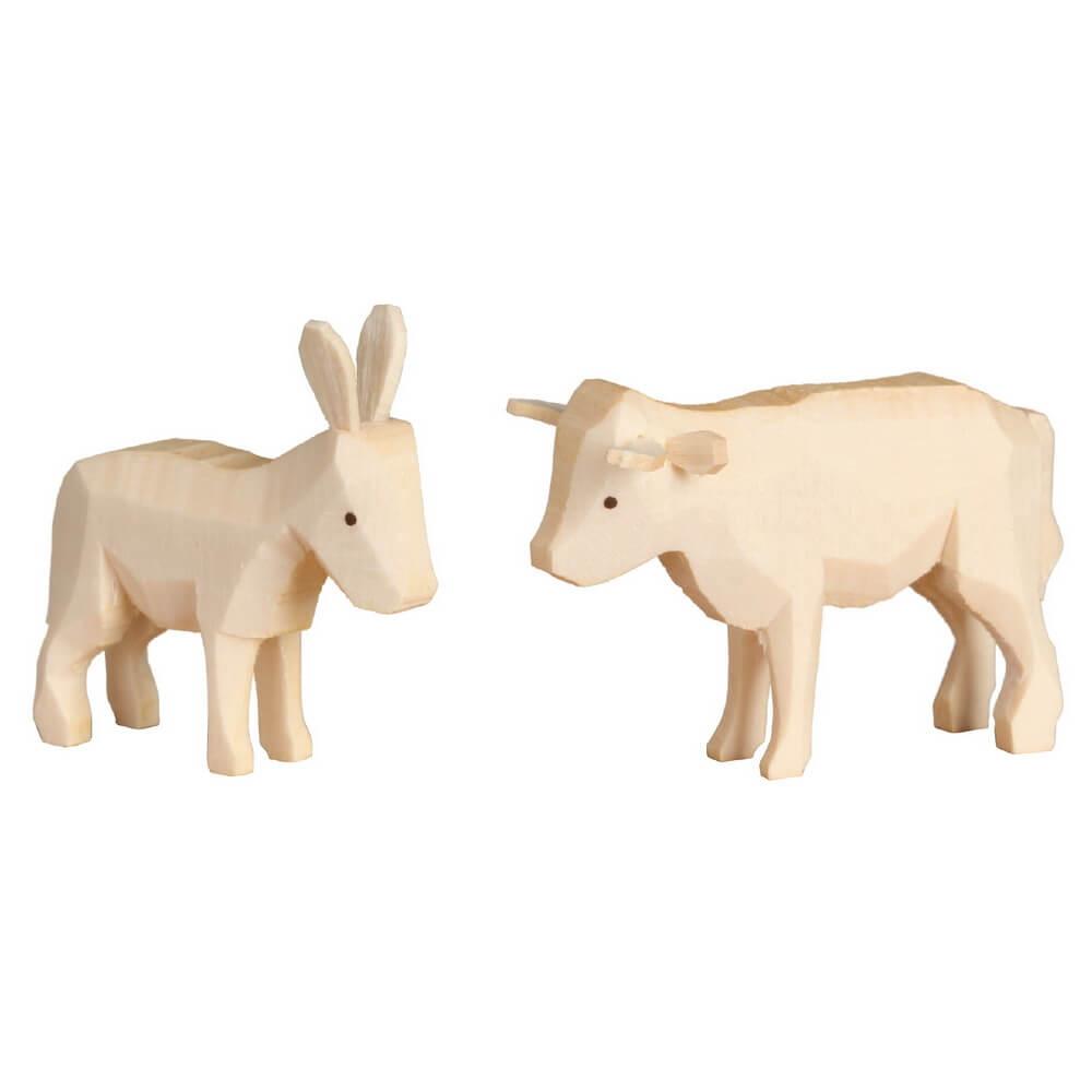 Romy Thiel, Ochse und Esel zur Krippe