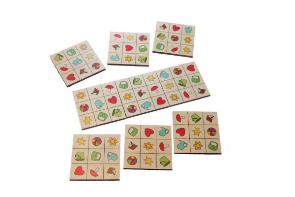 SudoMix ist ein Legespiel mit neun Karten ( 8 x 8 cm). Auf diesen Karten sind jeweils immer neun verschiedenen Symbole. Diese müssen zu einem Quadrat …