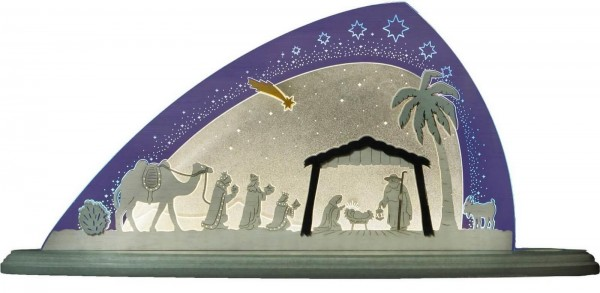 Weigla LED Motivleuchte Christi Geburt