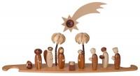 Vorschau: Motivplattform Heilige Familie, natur für Moderne LED Lichterspitze von Müller Kleinkunst