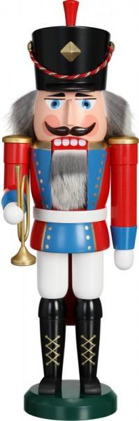 Nussknacker Trompeter, 39 cm von Seiffener Volkskunst eG