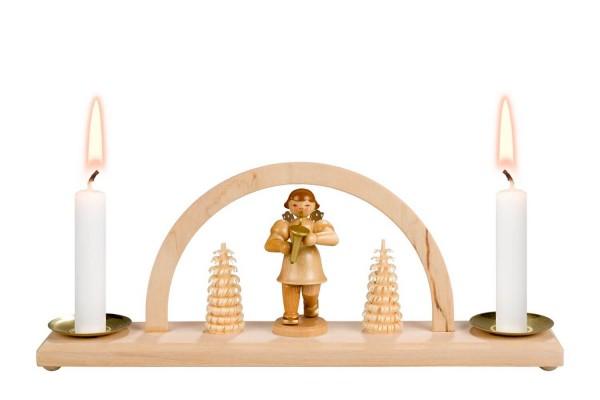 Minischwibbogen von Nestler-Seiffen Weihnachtsengel für Wachskerzen _Bild1
