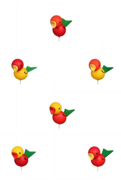 Steckvogel, groß, 12 Stück von Christian Ulbricht