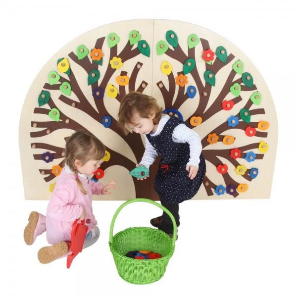 Greifen, Stecken und ganz viel Kreativität finden Kids in dem Spielvergnügen einen Busch zum Stecken von SINA Spielzeug Neuhausen/Erzgebirge. Super geeignet …