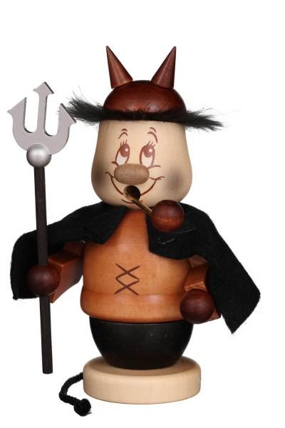 Räuchermännchen Miniwichtel Teufel, 14 cm von Christian Ulbricht