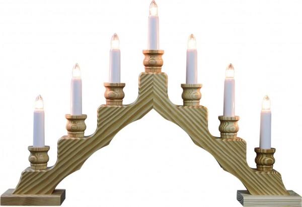Weigla LED Schwibbogen Trendiger Schwede, natur, 48 cm