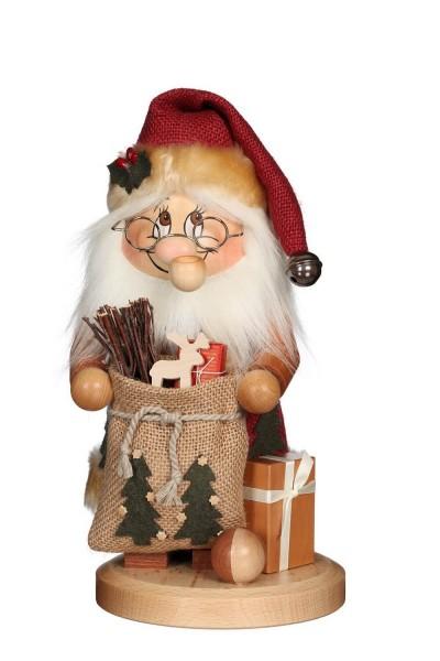 Räuchermännchen Wichtel Weihnachtsmann, rote Mütze, 28 cm von Christian Ulbricht