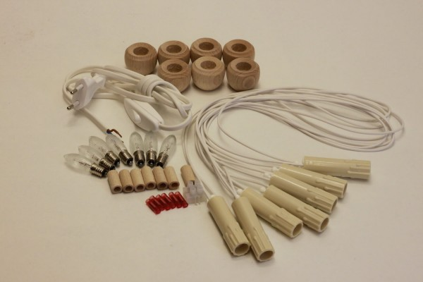 Elektrobausatz für 7er Schwibbogen