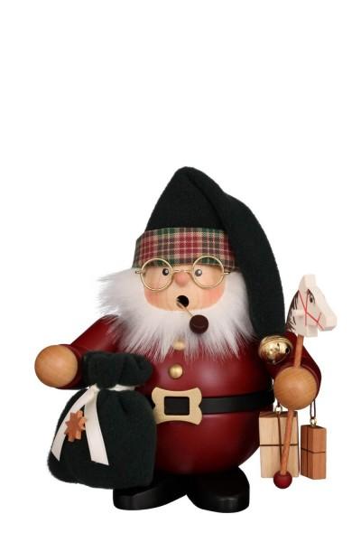 Räuchermännchen von Christian Ulbricht Weihnachtsmann, 17 cm, dunkelrot aus Holz