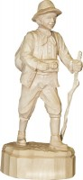 Vorschau: Wanderer, geschnitzt in verschiedenen Größen von Schnitzkunst aus dem Erzgebirge_Bild1