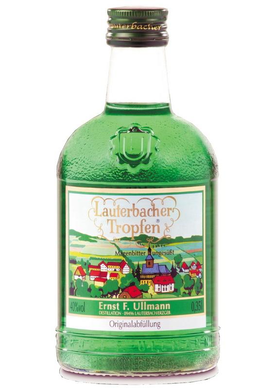 Lauterbacher Tropfen, 0,35l, Der Magenbitter des Erzgebirges, das Original mit 40 % vol., Hergestellt nach einem alten Familienrezept erhält dieser …