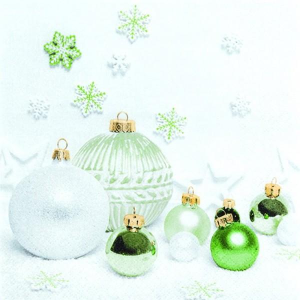 Weihnachtsservietten Green Harmony von Home Fashion®