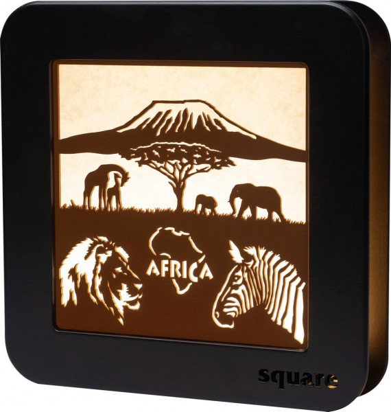 Weigla LED Wandbild Square Africa, 29 cm_Bild1
