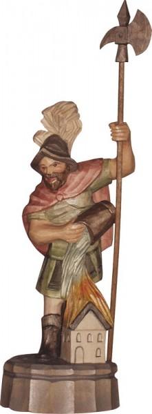 Heiliger Florian, geschnitzt, farbig von Schnitzkunst aus dem Erzgebirge_Bild1
