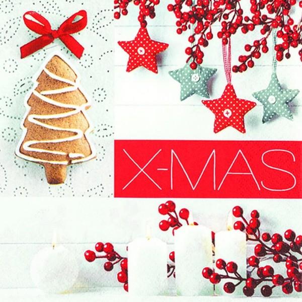 Home Fashion®, Weihnachtsservietten X-mas