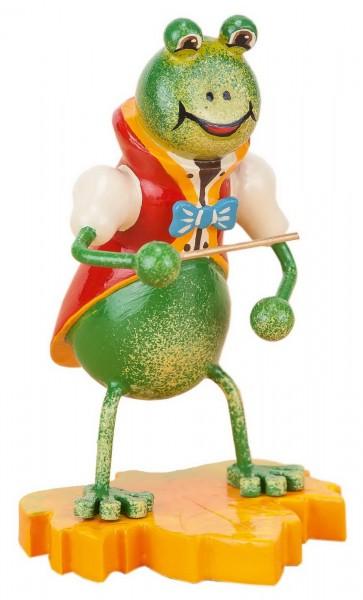 Hubrig Dekofigur Frosch aus Holz