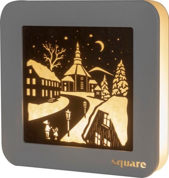 Weigla LED Wandbild Square Seiffen, 29 cm_Bild1