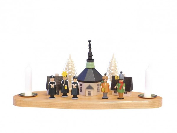Knuth Neuber, Kerzenhalter Seiffener Kirche, Laternenkinder, Kurrende_Bild1